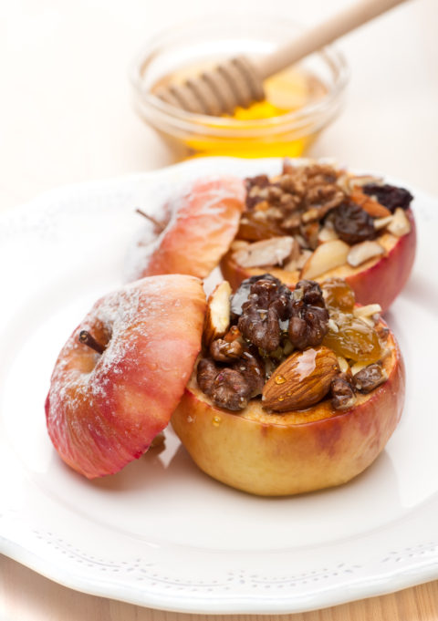 APPLES BAKED WITH HONEY RECIPE