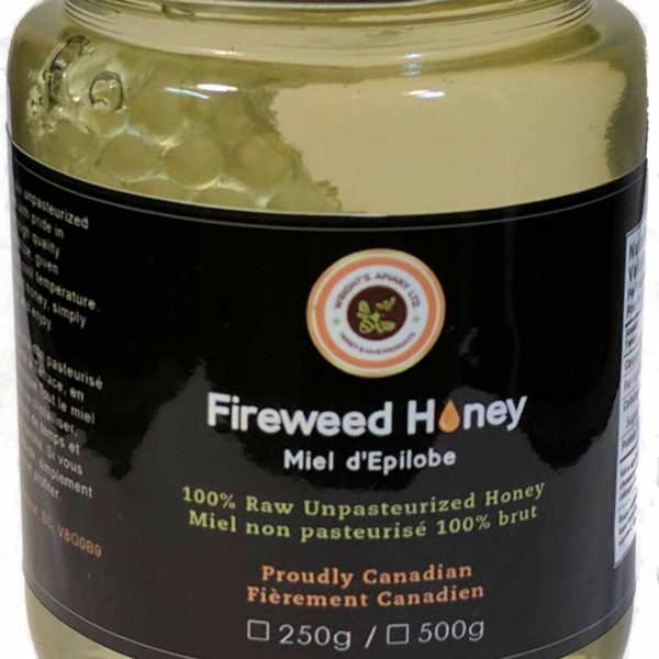 fireweed comb honey