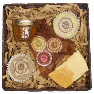 fireweed honey gift busket